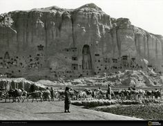 Ancient Gandhara, Afghanistan: Bamiyan Valley famous for Large Buddha Statues Demolished by Taliban forces
