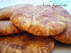 Aisha Kandisha:GALLETAS  SNICKERDOODLES