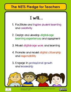 Free National Educational Technology Standards Poster for Teachers and Parents Computer Teacher, Instructional Design, Classroom Displays, Learning Environments, Educational Technology, Student Learning, Learn English, Esl, Zombies