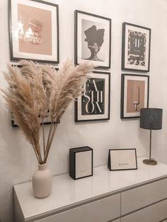 Room Ideas Bedroom, Home Decor Bedroom, Living Room Decor, Home Room Design, Home Interior Design, Aesthetic Room Decor, House Rooms, Home Decor Inspiration, Pampas Grass