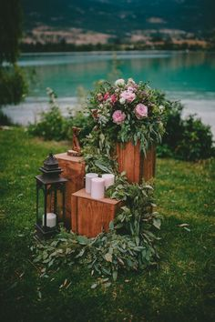Find Your Rustic DIY Inspiration in This Kelowna Mountain Wedding