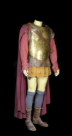 """[DOCTOR WHO (TV 2005-) - Rory Williams' (Arthur Darvill) """"The Pandorica Opens"""" and """"The Big Bang"""" Centurion Costume - Price Estimate: £400 - £600]"""