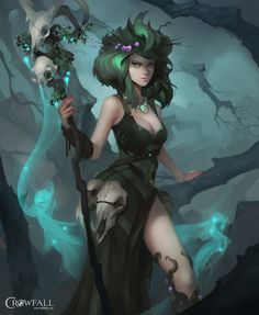 Druid Class, Dave Greco on ArtStation at https://www.artstation.com/artwork/druid-class