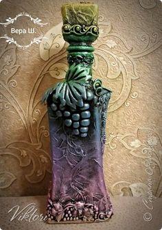Интерьерная бутылка.