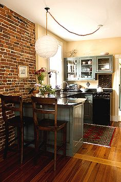 99 Inspiration For Your Own Tiny House With Small Kitchen Space Ideas (34)