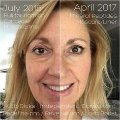 Invest in skincare products that WORK! REAL people with TRUE results! Rodan+ Fields is the #1 brand in the US and we are going global. Let me help you get started on a regimen that will give YOU noticeable results!