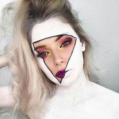 "Fantasy Makeup World (@fantasymakeupworld) on Instagram: ""Beautiful Art, isn't it? ❤️ M U A - @ksyusha.chinchenko . . . For more content follow…"""
