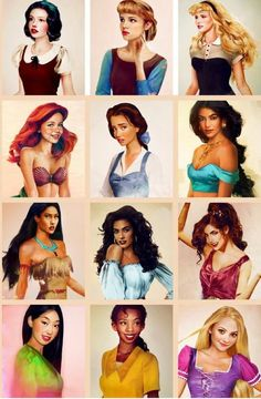 "Disney characters in ""real life""!"