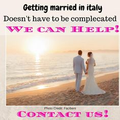 We are here to help:  www.weddinganditaly.com Getting Married In Italy, Got Married, Italy Wedding, Photo Credit, Couples, Inspiration, Beautiful, Biblical Inspiration, Romantic Couples