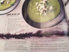 Edamame and Crab Soup
