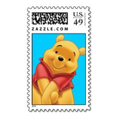 Winnie the Pooh 13 Stamp. This is a fully customizable business card and available on several paper types for your needs. You can upload your own image or use the image as is. Just click this template to get started! How To Make Stickers, Cool Stickers, Winie The Pooh, Pinturas Disney, Cute Patches, Winnie The Pooh Friends, Tumblr Stickers, Disney Diy, Disney Stuff