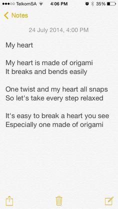 My Heart By Chenoa Holdstock