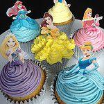 Disney princesses for Lola's 4th Birthday! par Cupcake Occasions uk
