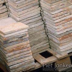 Antique French floor tiles