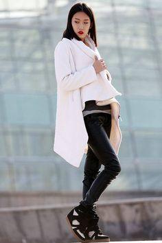 Winter coat Wool Coat coat White coat womens jackets