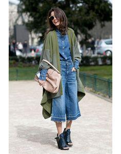 Wie trägt man eigentlich Culottes?