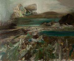 Maja Lisa Engelhardt (Danish, b. Gravhøj [Burial Mound], Oil on canvas, 230 x 300 cm. Vikings, Lisa, Abstract Expressionism, Danish, Oil On Canvas, Modern Art, Museum, Inspire, Paintings