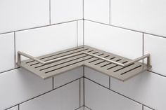 Surface Stainless Steel Shower Shelf Shower Rack, Shelves, Rose Gold Room Decor, Bathroom Design Gallery, Shower Corner Shelf, Bathroom, Small Bathroom With Shower, Shower Shelves, Diy Sofa
