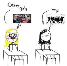 Outras garotas/Eu