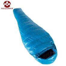 New Aegismax M3 Lengthened Mummy Sleeping Bag Ultralight White Goose Down Box Baffles Winter Outdoor Camping Hiking 210cm*82cm //Price: $US $126.00 & FREE Shipping //   #gloves #decor #dresses #skirts #pants #tshirts