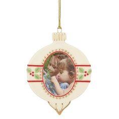 Lenox® Holiday Photo Frame Ornament - BedBathandBeyond.com