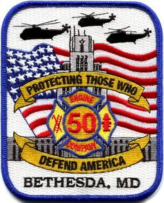 Maryland - Bethesda Naval Medical Center Fire Department 2009 patch