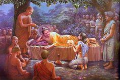 Buddha into Nirvāṇa !