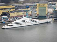 The UAE President's New Megayacht Is An Absolute Monster. The AZZAM is longer than most cruise ships.