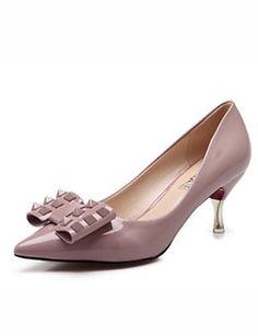 X&D Damenschuhe - High Heels - Outddor / Büro / Lässig / Party & Festivität - Kunststoff - Stöckelabsatz -Absätze / Spitzschuh / Geschlossene - http://on-line-kaufen.de/tba/x-d-damenschuhe-high-heels-outddor-buero-laessig-8