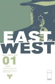East of West #1. Finished June 5, 2014. Own it.
