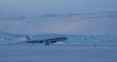 DC-8 Thule Greenland 2010 -Rotation