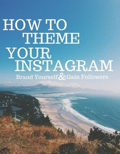 Theming your Instagram feed is a great way to brand yourself and make yourself stand out. A lot of people are clueless when it comes to theming their accounts, but it's easy if you follow just a few tips!