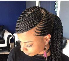 Beauté Noire, Tresses, Coiffures, Cheveux, Chignon Sur Cheveux Naturels,  Comment Faire