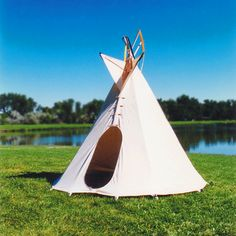 Children's Backyard Tipi | Construction Tipi/How to Make a Tipi. Handmade to order in Montana! | Imagine Childhood.