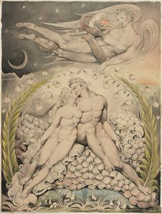Satan Watching the Caresses of Adam and Eve (Milton's Paradise Lost), 1808