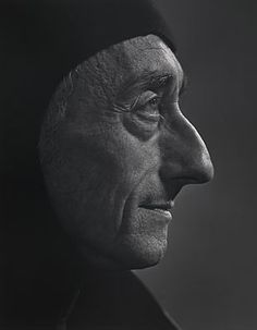 portrait photo of Jacques Cousteau taken by Yousuf Karsh