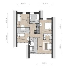 Grote Kaap C - Lighthouse Living Apartment Floor Plans, House Floor Plans, Indian House Plans, Residential Architect, Contemporary House Plans, Indian Homes, Room Planner, Build Your Dream Home, House Layouts