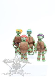 Mutant ninja turtle toppers and tutorial