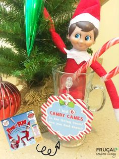 Elf on the Shelf Ideas - Pick up the Elf on the Shelf Scout Elves At Play Kit. Tips, Tricks and Tools to inspire your Elf including Elf Notes! #elf #elfontheshelf #elfideas #elfontheshelfideas