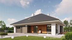 Projekt domu Zacisze 6 T 129,59 m² - Domowe Klimaty Design Case, Home Goods, Farmhouse, Outdoor Decor, Houses, Home Decor, Homes, Decoration Home, Room Decor