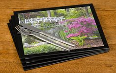 This stunningly designed set of glass placemats features Any Name of your choice on the bridge of this picturesque garden scene.  Our person...