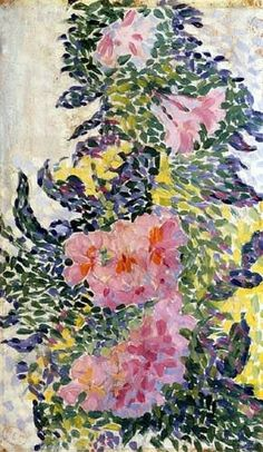 Flowers. - Henri Edmond Cross