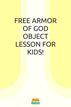 Capture kids' attention with this crazy object lesson involving trash bags & water guns—and, at the same time, teach kids to put on the whole Armor of God. These types of hands-on games & activities grab kids' interest from the get-go, which makes the rest of your lesson easier! Perfect for VBS, Sunday School, or homeschool. Click through for Armor of God Intro Activity instructions—plus a free printable lesson plan! Object Lessons, Bible Lessons, Water Guns, Types Of Hands, Armor Of God, Lessons For Kids, Activity Games, Sunday School, Teaching Kids