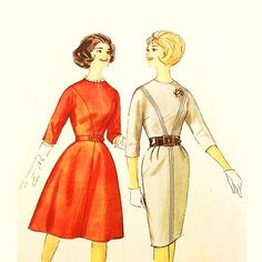 Mad Men Dress Pattern Size 18 Bust 38 by RebeccasVintageSalon, $8.00