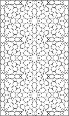 Diseño geométrico de la Alhambra