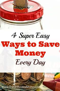 I am all about saving money, but sometimes it seems like I just don't have the time. These 4 super easy ways to save money are perfect for busy, working families!