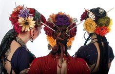 Manhattan Tribal flowers