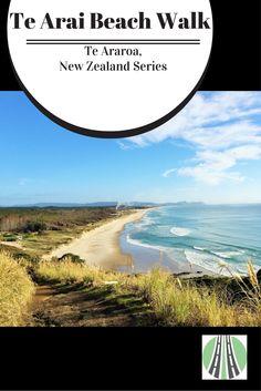 Te Arai Beach walk is part of Te Araroa, a 3000km trail the length of New Zealand. Te Arai Beach is a stunning, long beach in Northland.