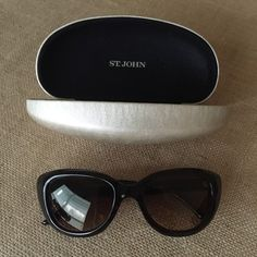 *new* St. John Sunglasses and Case. Get the lowest price on sunglasses and other clothing and accessories! Shop Tradesy now.