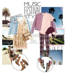 """Festival style"" by elen-015 ❤ liked on Polyvore featuring Urban Outfitters, Y/Project, Vivienne Westwood Man, H London, Hollister Co., DIBI, Gentle Monster and festivalfashion"